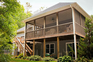 Osage Beach Screened Porches